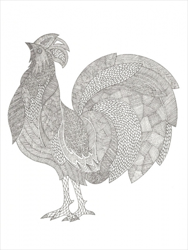 Painting Chicken Patterns On Pinterest Pattern Roosters And