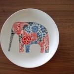 elephant plate_R