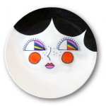 lady plate